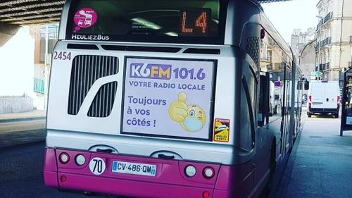 Ils sont beaux les culs de bus à Dijon en ce moment non ?