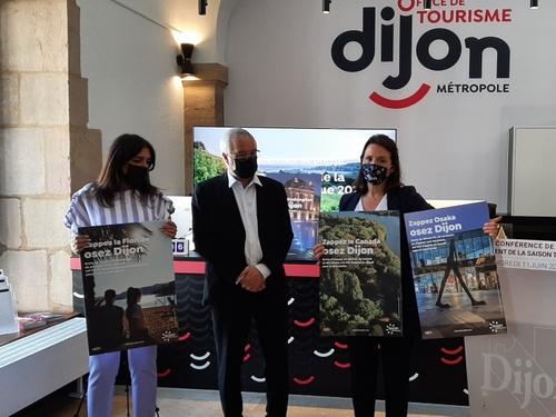 Dijon métropole lance sa saison touristique 2021