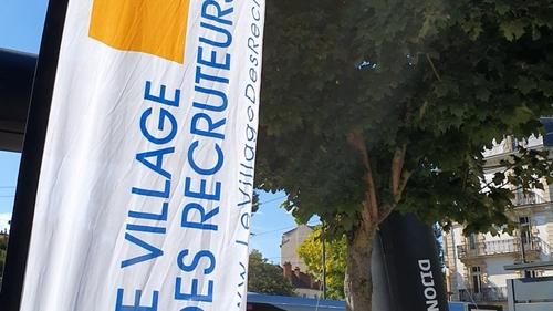 En vidéo : visite express du Village des recruteurs