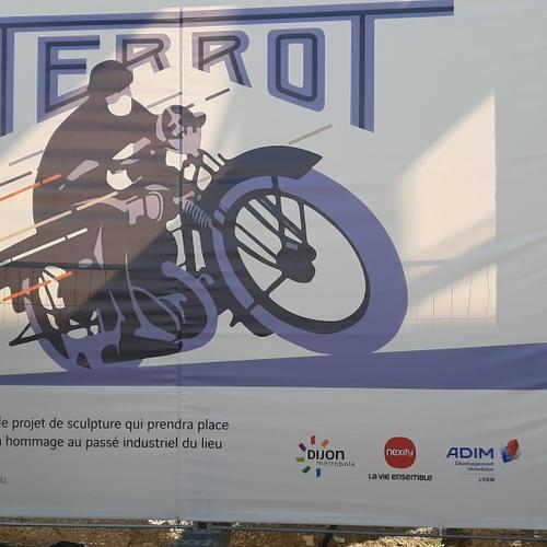 Les travaux sur le site de l'usine Terrot ont débuté