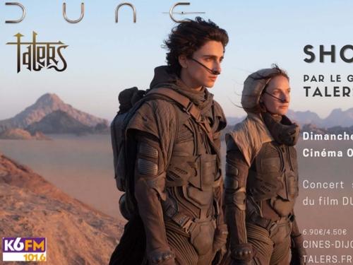 """Soirée spéciale """"Dune"""" au cinéma Olympia le dimanche 19 septembre"""