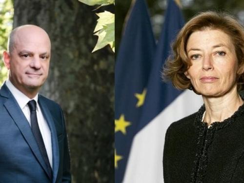 Jean-Michel Blanquer et Florence Parly à Dijon ce jeudi
