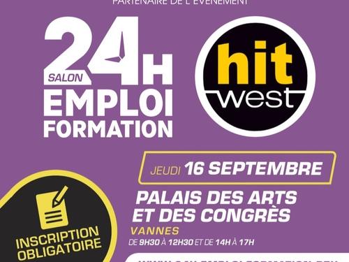 24H Emploi Formation, c'est demain à Vannes !