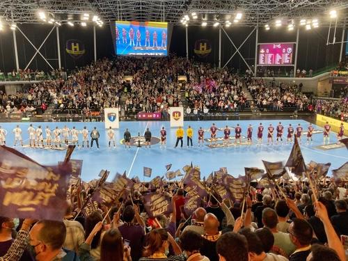 Le HBC Nantes domine Montpellier, dans une H Arena à guichets fermés