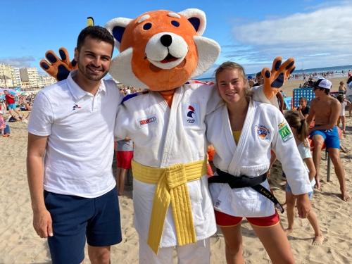 Le judo fait sa promotion sur les plages de Vendée
