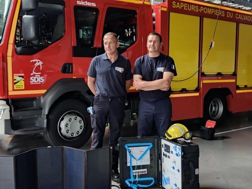 Deux pompiers du Calvados sur le départ pour rejoindre Haïti