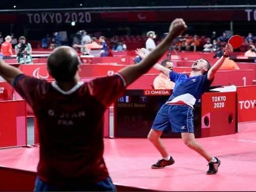 Un pongiste de l'Ouest, Matéo Bohéas, médaillé d'argent à Tokyo !