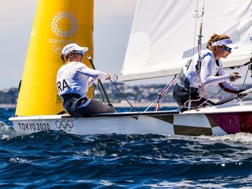 Camille Lecointre et Aloïse Retornaz en bronze aux JO !