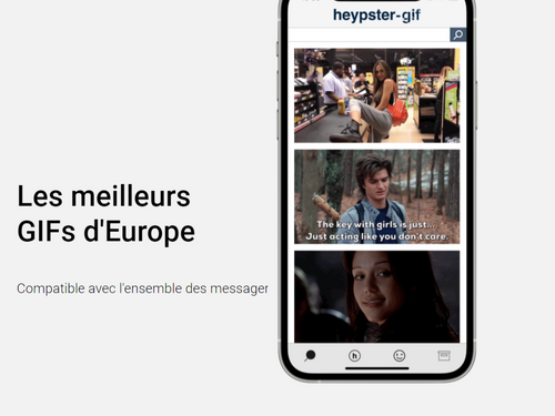 Heypster-gifs, la première plateforme européenne lancée en Mayenne