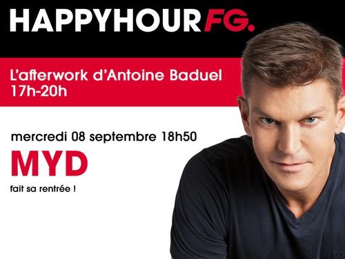 MYD invité de l'Happy Hour ce soir !