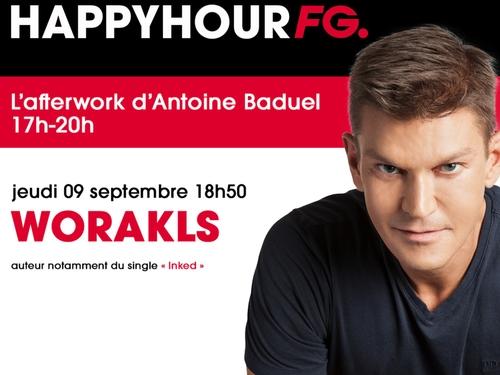 Worakls invité de l'Happy Hour FG ce jeudi