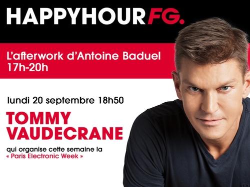 Happy Hour FG spéciale Paris Electronic Week ce lundi soir !