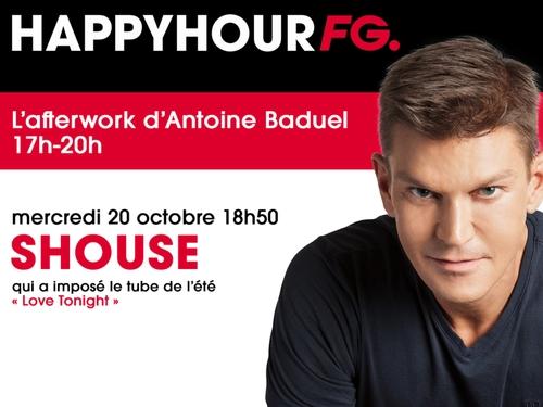 Le duo Shouse invité ce soir de l'Happy Hour FG !
