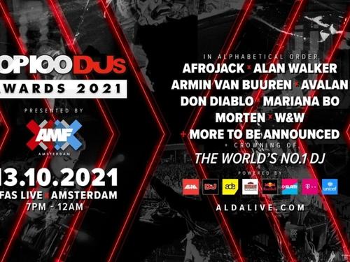 Le Top 100 DJs 2021 sera dévoilé le 13 octobre lors d'un évènement...