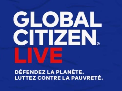 Global Citizen live, les artistes mobilisés pour le climat