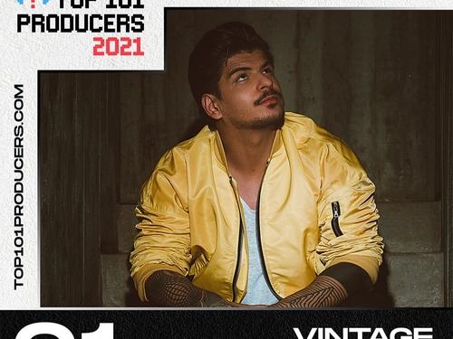 Vintage Culture domine le classement Top 101 Producers 2021 !