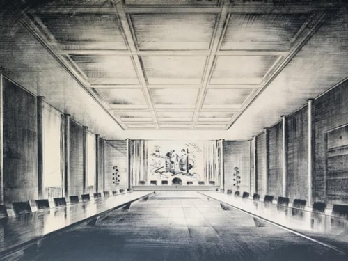 Radio FG présente l'exposition ''Jean Tschumi, architecte''