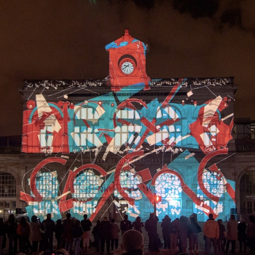 VIDEO MAPPING FESTIVAL LILLE