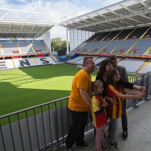 Les visites reprennent au stade Bollaert-Delelis