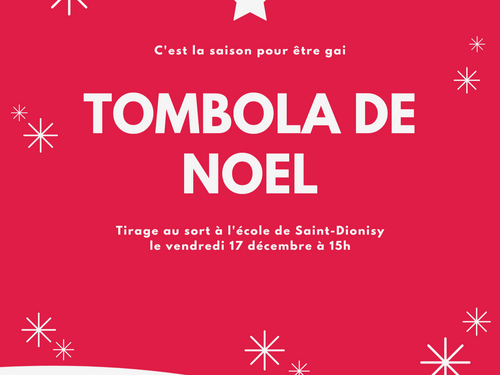 Tombola annuelle de l'école primaire de Saint Dionisy (30)