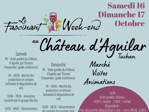 Le Fascinant week-end au château d'Aguilar de Tuchan