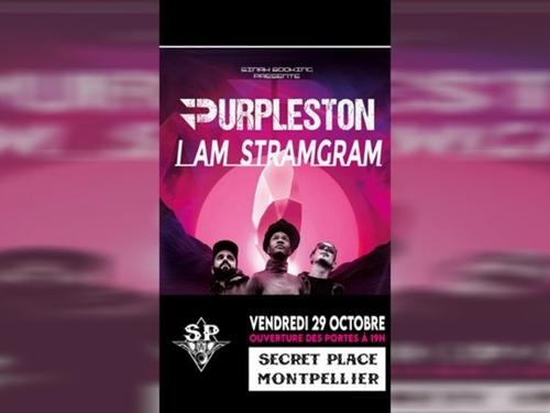 Purpleston en concert à la Secret Place de St Jean de Védas !