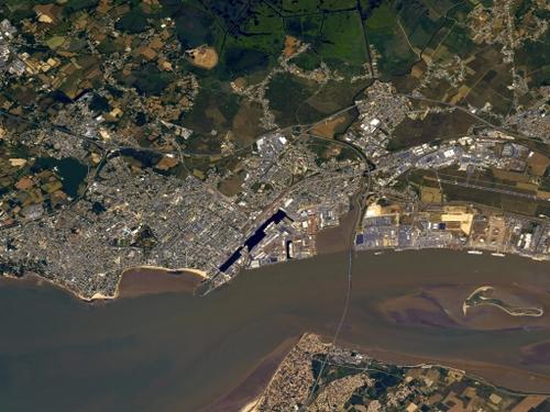 Thomas Pesquet survole Saint-Nazaire et Nantes à bord de l'ISS