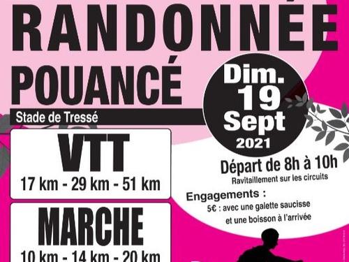 RANDONNEE VTT et MARCHE de POUANCÉ