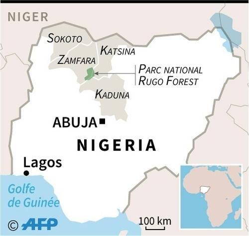 """Dans le nord-ouest du Nigeria, """"les bandits"""" en fuite inquiètent..."""