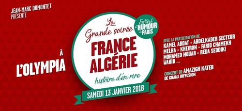 Grande soirée France-Algérie, histoire d'en rire