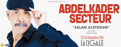 """""""Salam Aleykoum"""", nouveau spectacle d'Abdelkader Secteur"""