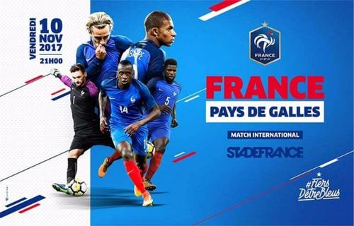 Gagnez vos places pour le match France - Pays de Galles