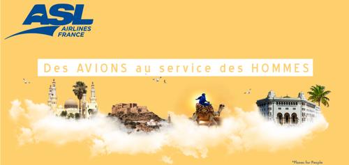 Gagnez vos billets d'avion vers l'Algérie ou le Maroc avec ASL...