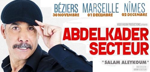 Abdelkader Secteur (Béziers, Marseille et Nîmes)