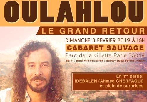 Gagnez vos places pour le concert de Oulahlou