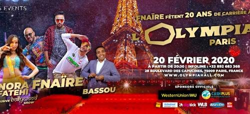Gagnez vos places pour le concert de Fnaïre et Nora Fatehi !