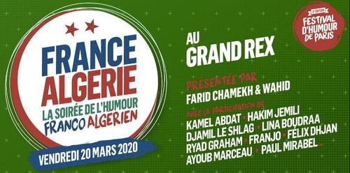 Soirée de l'humour franco-algérien