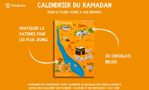 Calendrier du ramadan PlayKube