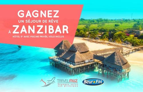 Gagnez un séjour de rêve à Zanzibar avec TravelMuz !