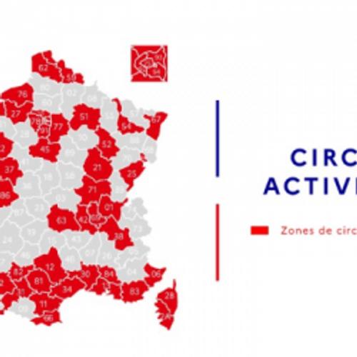 Covid: La Marne et la Haute-Marne en zone rouge
