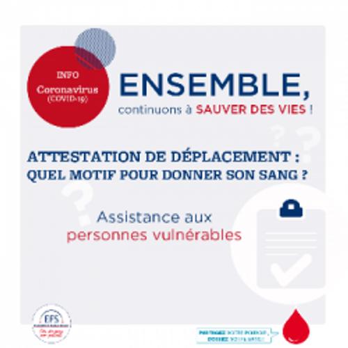 Le don du sang est impacté par la crise sanitaire