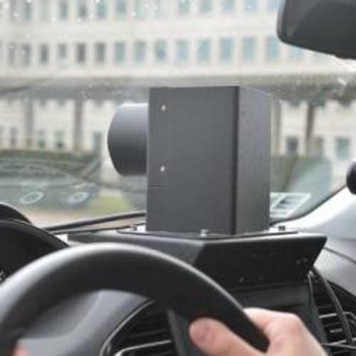 Une première voiture-radar en action dans notre région
