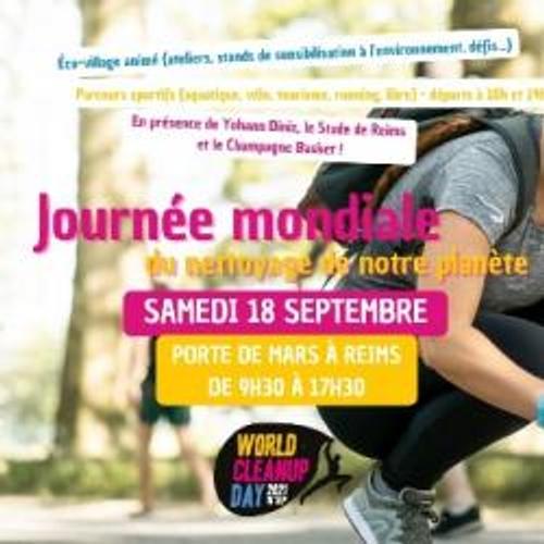 Reims: un programme ludique pour le World CleanUp Day