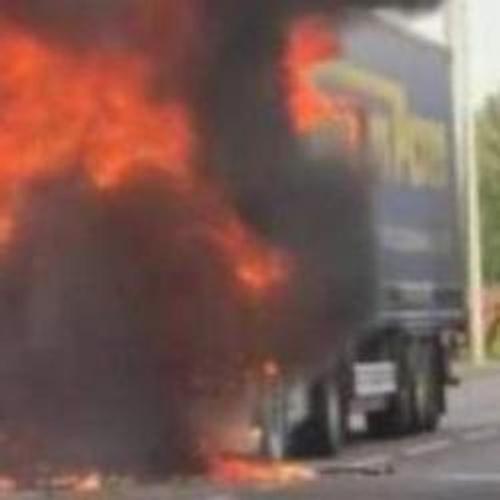 Camion en feu : une déviation mise en place à Fismes