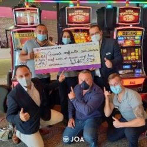 Jackpot de près de 50 000€ au casino du Lac du Der