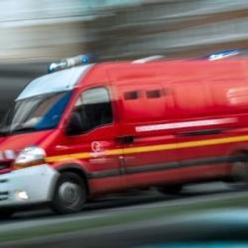 Un motard grièvement blessé