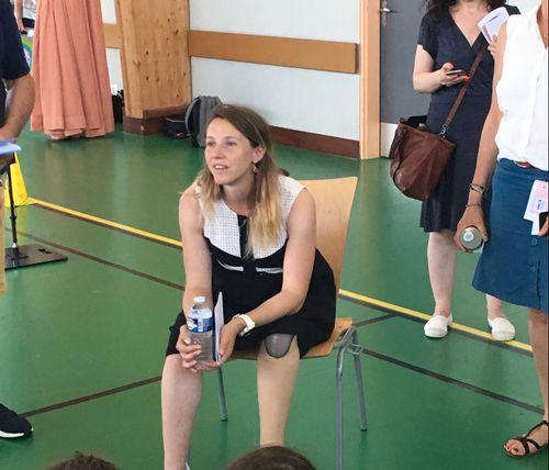 Une championne paralympique pour aider l'Aube lors des J0 2024.