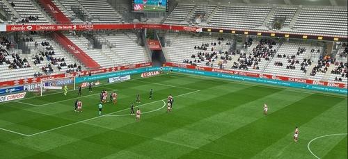 Le Stade de Reims s'incline face à Lorient (1-3)