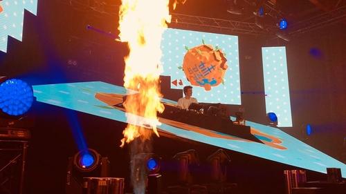 Electro Session à l'Artois Expo d'Arras