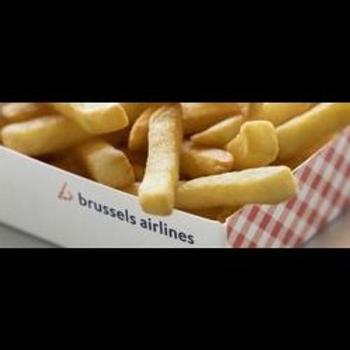 Frites et gaufres à bord de Brussels Airlines